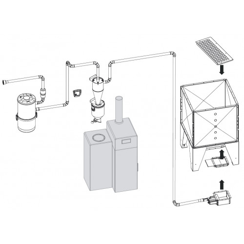 Система вакуумной подачи Advance Easy Moving Kit R1