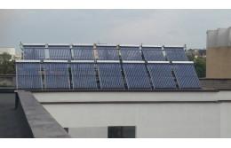 Система вакуумных солнечных коллекторов для БГТУ, г.Брест.