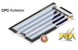 SOLARFOCUS CPC - уникальный солнечный коллектор
