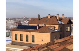 2015 г. Массив из 24 солнечных коллекторов в МО.