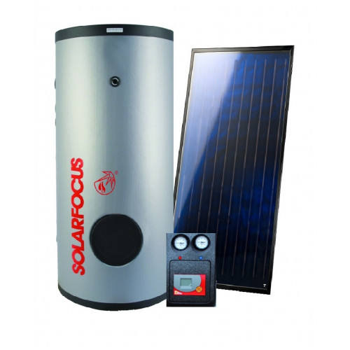 SOLARFOCUS ECOLINE TS-B 300 + 2SUNeco